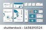 corporate identity template... | Shutterstock .eps vector #1658393524