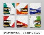 sport banner for digital... | Shutterstock .eps vector #1658424127