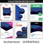 collection of flyers  mega pack ...   Shutterstock .eps vector #1658469661
