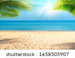 Tropical Sea Beach With Sand ...