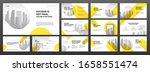 business powerpoint... | Shutterstock .eps vector #1658551474