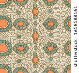 vector ethnic vintage jewelry... | Shutterstock .eps vector #1658588161