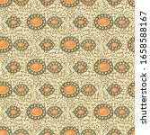 vector ethnic vintage jewelry... | Shutterstock .eps vector #1658588167