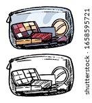 hand drawn vector illustration. ... | Shutterstock .eps vector #1658595721