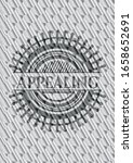 appealing silver badge or... | Shutterstock .eps vector #1658652691