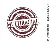 red multiracial distressed... | Shutterstock .eps vector #1658652724