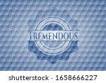 tremendous blue polygonal... | Shutterstock .eps vector #1658666227