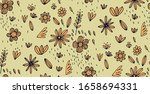 floral seamless pattern for... | Shutterstock .eps vector #1658694331