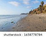 Scenic Beach Background  ...