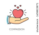 Compassion Rgb Color Icon....