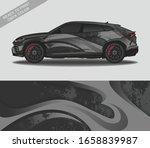 car wrap decal design vector ... | Shutterstock .eps vector #1658839987