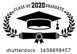 2020 class graduate. the... | Shutterstock .eps vector #1658898457