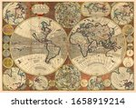 Great Detail Of The World Map...