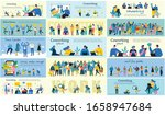 connection background with... | Shutterstock .eps vector #1658947684
