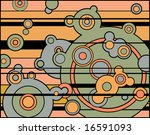 abstract background of retro... | Shutterstock . vector #16591093
