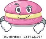 cool strawberry macarons mascot ... | Shutterstock .eps vector #1659121087