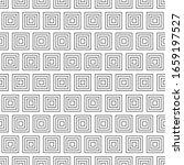 seamless pattern geometric... | Shutterstock .eps vector #1659197527