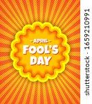 April Fool's Day Pop Art Comic...