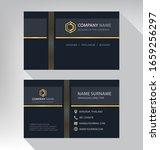 business card in modern luxury...   Shutterstock .eps vector #1659256297