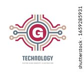 technology concept logo... | Shutterstock .eps vector #1659285931