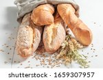 Tasty French Baguettes For...