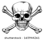 Skull And Crossbones Sign In A...