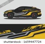 car wrap decal design vector ...   Shutterstock .eps vector #1659447724