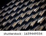 Roof Tile Details Of Heddal...