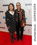 Small photo of New York, NY - February 28, 2020: Dolores Huerta and Gail Lumet Buckley attend The Lena Horne Prize for Artists Creating Social Impact inaugural celebration at The Town Hall