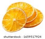 Orange Chips  A Dried Thin...