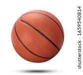 Basketball Ball Isolate On...