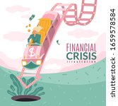 financial crisis square... | Shutterstock .eps vector #1659578584