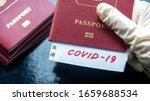 Travel and coronavirus concept  ...