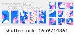abstract vector instagram...   Shutterstock .eps vector #1659714361