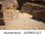 Rock Stone Steps In The Ancien...