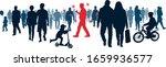 virus infection coronavirus.... | Shutterstock .eps vector #1659936577