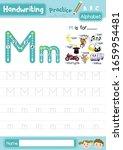 letter m uppercase and... | Shutterstock .eps vector #1659954481