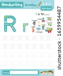letter r uppercase and... | Shutterstock .eps vector #1659954487