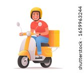 fast and free delivery.... | Shutterstock .eps vector #1659963244