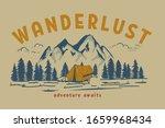wanderlust. hand draw...   Shutterstock .eps vector #1659968434