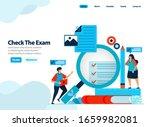 website design of checking...