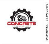 creative of concrete mixer... | Shutterstock .eps vector #1659998491