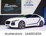 bangkok  december 3   hyundai...   Shutterstock . vector #166001834
