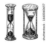 sandglass sketch set. sand...   Shutterstock .eps vector #1660060657