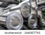 rolls of aluminum sheet   Shutterstock . vector #166007741