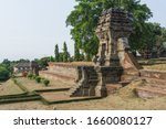 Ruin Of Royal Palace Surrounded ...