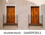 Typical Spanish Facade With...