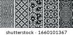 decoratice laser cutting  ... | Shutterstock .eps vector #1660101367