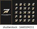 eagle head initial letter logo... | Shutterstock .eps vector #1660104211