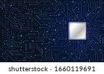 vector futuristic circuit board ...   Shutterstock .eps vector #1660119691